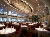 Celebrity Silhouette. Celebrity cruises\' new ship launched in Hamburg 21st July 2011. Interior feature photos. Grand Cuvee Dining Room