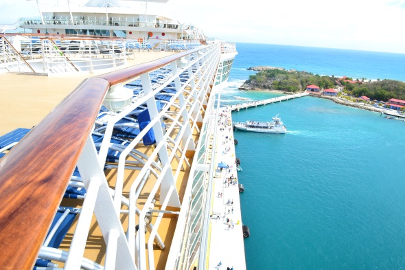 Allure of the Seas en Labadee. Foto Gregorio Mayi