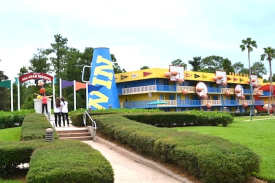 Disney's All-Star Sports Resort/Gregorio Mayí