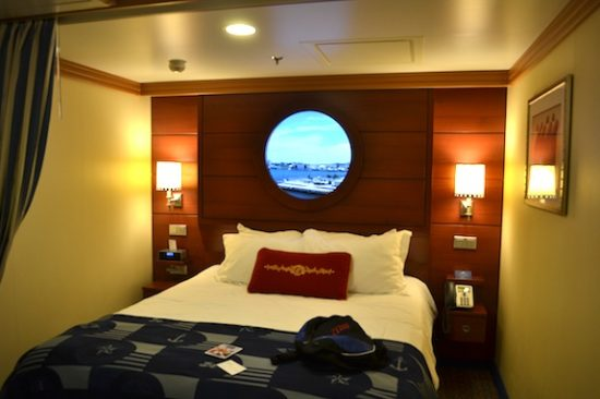 Disney Dream, cabina interior. Foto: Gregorio Mayí