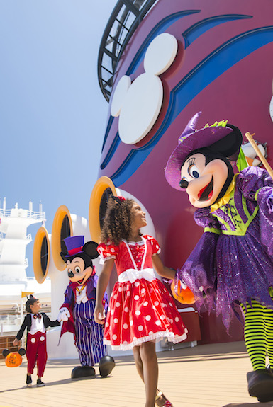 Halloween on the High Seas. Foto: Disney Cruise Line
