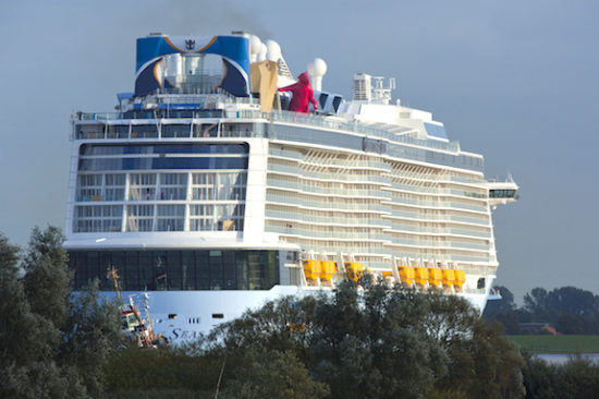 "Quantum of the Seas, el ""conveyance"".  Foto: Royal Caribbean"