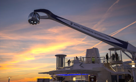 North Star, Quantum of the Seas. Foto: Royal Caribbean