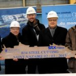 Royal Caribbean starts construction of  fourth Oasis-Class ship