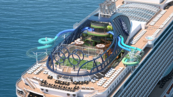 MSC Seaside. Foto MSC Cruises.