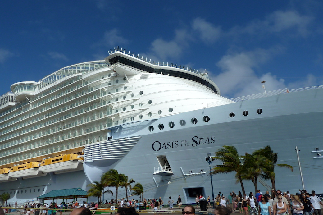 Oasis of the Seas, de Royal Caribbean Foto Gregorio Mayi.